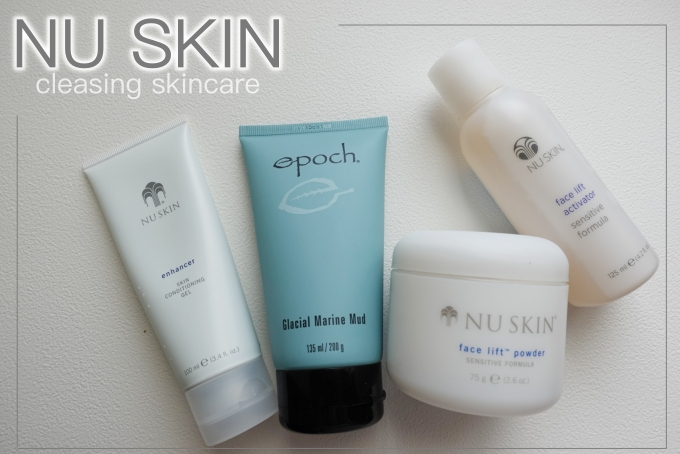 清潔肌膚推薦 | NU SKIN如新。冰河泥三兄弟(敏弱肌),清潔毛孔、拔粉刺/寒毛 @林飛比。玩美誌