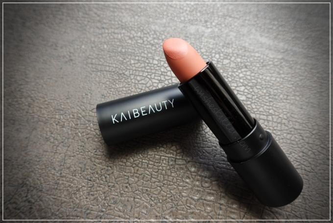 台灣唇膏分享 | KAIBEAUTY小凱老師。柔焦霧唇膏,溫柔玫瑰裸粉色 @林飛比。玩美誌