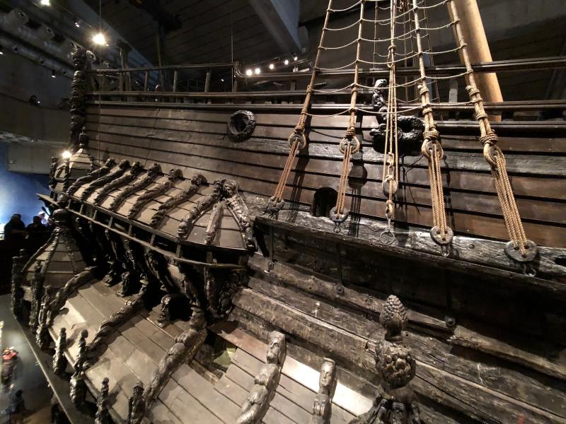北歐四國鐵道旅遊 | 瑞典 斯德哥爾摩,瓦薩號博物館 沈靜於海底的奢華。Day 10 @林飛比。玩美誌