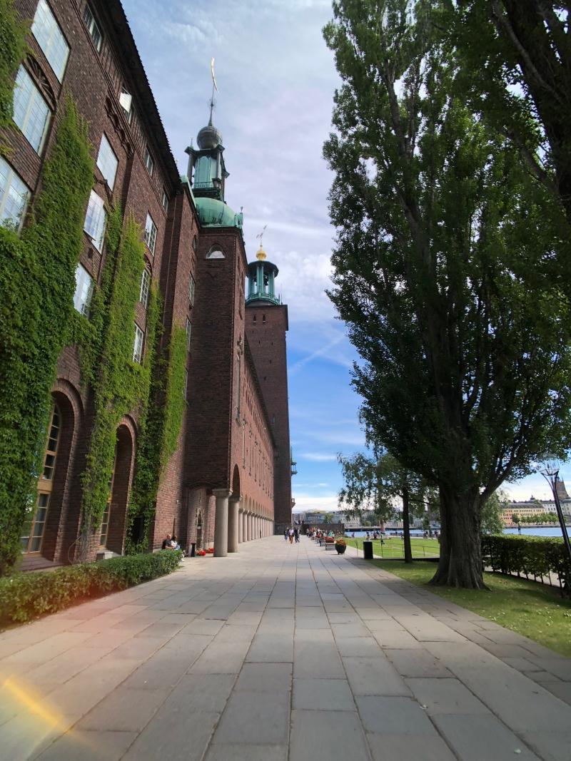 北歐四國鐵道旅遊 | 瑞典 斯德哥爾摩,世界上數一數二美市政廳。Day 10-1 @林飛比。玩美誌