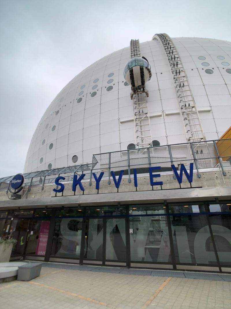 北歐四國鐵道旅遊 | 瑞典 斯德哥爾摩,城市裡的可愛小屋、skyview。Day 10-2 @林飛比。玩美誌