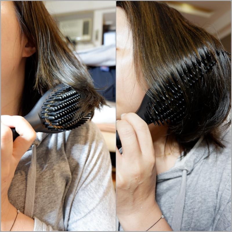 懶人專用專櫃髮型工具推薦 | Ghd。glide 電子梳,沒洗頭也能梳出一個蓬鬆假象(笑) @林飛比。玩美誌