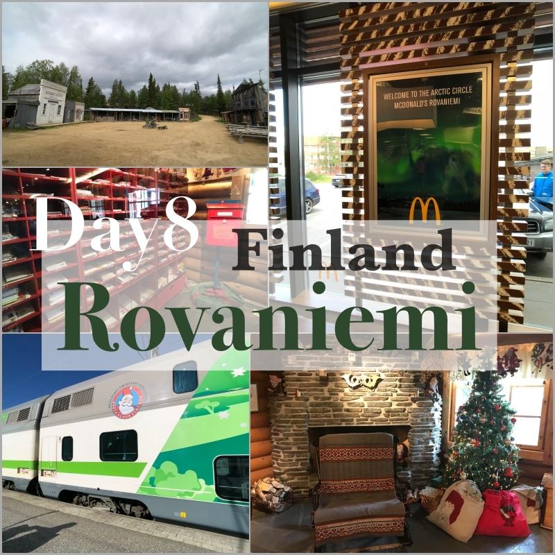 北歐四國鐵道旅遊 | 芬蘭聖誕老人村、淘心酸的淘金,搭著老公公快車過夜去。Day 8 @林飛比。玩美誌