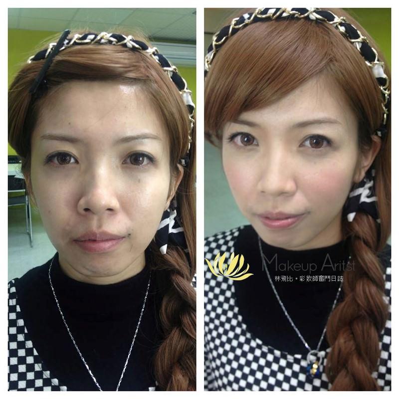 明星御用彩妝師系列 | 專業彩妝課程by風繡絨老師 @林飛比。玩美誌