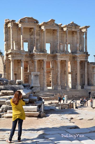 中東、土耳其|踏踩古羅馬遺跡找尋人類文明-以弗所(Ephesus) @林飛比。玩美誌