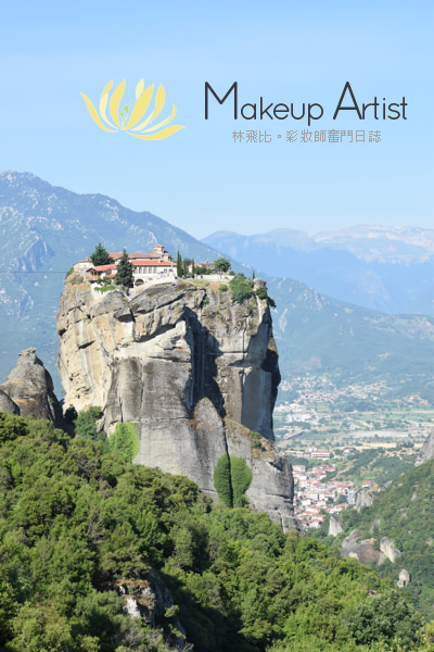 南歐、希臘|漂浮在空中的悠然-天空之城、德爾菲 @林飛比。玩美誌