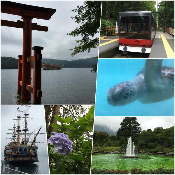 日本遊學體驗 | 夏天裡的江之島、箱根 @林飛比。玩美誌