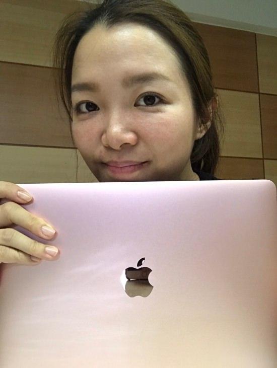 筆電推薦 | Apple。MacBook 12′ 我和我的輕巧時尚小粉紅 @林飛比。玩美誌