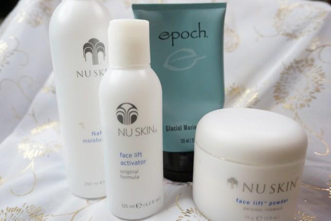 肌膚清潔推薦 | NU SkIN。冰河泥三兄弟+美膚粉水(一般肌),粉刺退散! @林飛比。玩美誌