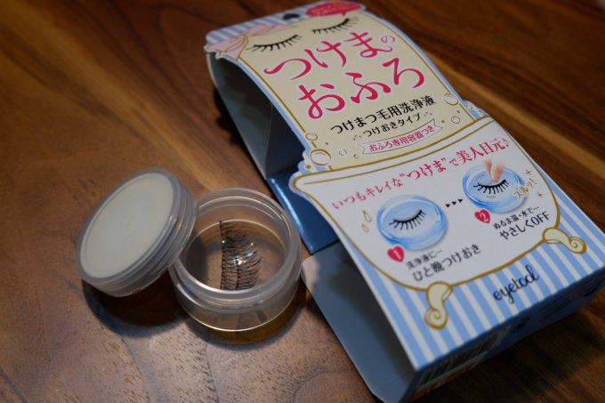 清潔 | 假睫毛的風呂。石澤研究所 tsukema bath假睫毛清潔劑 @林飛比。玩美誌