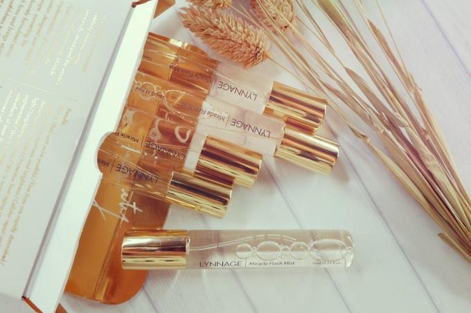 彩妝師品牌推薦 | LYNNAGE 晶妍透潤時光精萃,補水定妝小金瓶 @林飛比。玩美誌