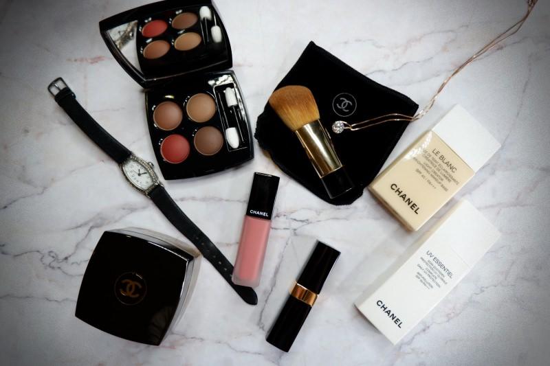 專櫃彩妝推薦 | 香奈兒CHANEL。妝前乳、底妝乳霜、眼影、唇膏分享 @林飛比。玩美誌