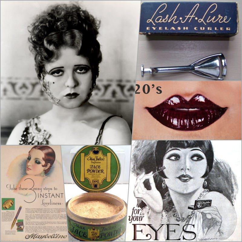 彩妝年代|回顧1920'彩妝史。那些溫柔婉約中的堅定霸氣(上) @林飛比。玩美誌