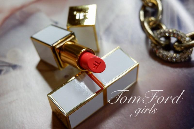 專櫃唇膏推薦 | Tom Ford。girls系列唇膏,白管口紅美翻了啦~ @林飛比。玩美誌