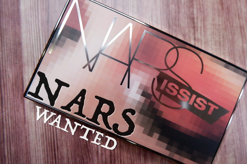 NARS wanted palette 限量自戀愛羨眼影盤新品快閃分享 @林飛比。玩美誌