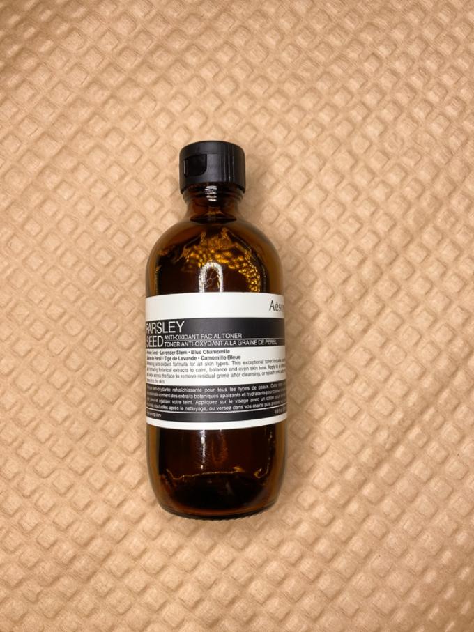 天然保濕專櫃保養推薦   Aesop。香芹籽系列,基礎/鎮定/抗氧化3件組 @林飛比。玩美誌